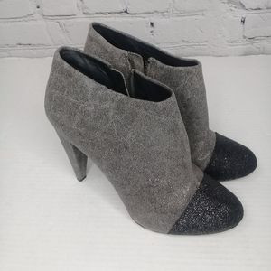 Vince Camuto Amboy urban grey/black bootie Sz 8.5B